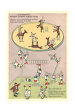 Vintage Circus Toys Poster