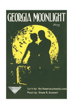 Sheet Music for Georgia Moonlight Posters