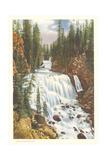 Kepler Cascade, Firehole River Prints