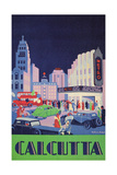 Travel Poster for Calcutta, India Posters
