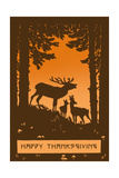 Happy Thanksgiving, Bugling Elk Prints