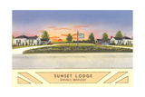 Sunset Lodge, Shively, Kentucky Prints