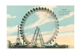 The Big Wheel, Paris Prints