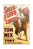 Sells-Floto Circus Poster Print