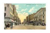 Summit Street, Toledo Poster