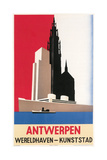 Travel Poster for Antwerp Posters