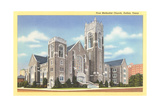 First Methodist Church, Dallas Posters