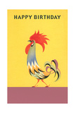 Stylized Rooster Posters
