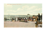 Bathing Beach, Erie Poster