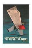 Walking Newspaper, Financial Times Prints