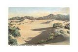 Sand Hills, Palm Springs Kunstdrucke