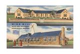 Windmill Motel, Nicholasville, Kentucky Prints