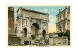 Arch of Septimus Severus, Rome Posters