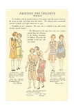 Fashions for Children Posters