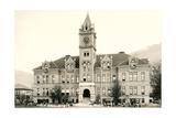 Main Hall, University of Montana Affiche