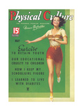 Cover of Physical Culture Magazine Prints