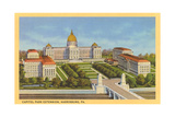 Capitol Park Extension, Harrisburg Poster