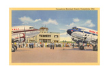 Youngstown Municipal Airport Posters