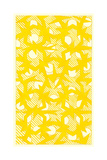 Yellow Walpaper Pattern Prints
