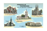Churches of Knoxville Posters