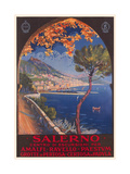 Travel Poster for Salerno Posters