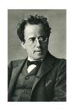 Composer Gustav Mahler - Poster