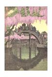 Hump-Backed Bridge, Kameido Tenjin Prints
