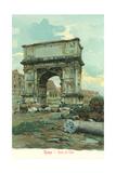 Titus' Arch, Rome Prints