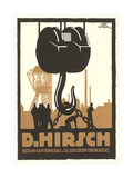 Hirsch Heavy Machinery Posters