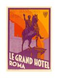 Le Grand Hotel, Roma Prints