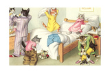 Crazy Cats Bedtime Posters
