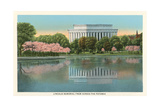 Lincoln Memorial from across the Potomac Prints