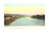 Delaware River, Easton Print