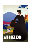 Travel Poster for Abruzzo Posters