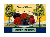 True Flavor Mixed Berries Prints