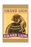 Grande Lion Label Art