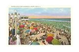 Bathing Beach, Asbury Park Print