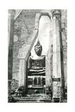 Buddha Statue Print