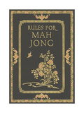 Rules for Mah Jong Prints