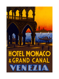 Hotel Monaco and Grand Canal Posters