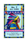 No. 7 All Corn Broom Prints
