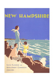 New Hampshire Travel Poster Prints