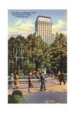 Court Square, Memphis Posters