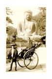 Buddha Statue and Rickshaw Posters