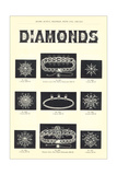 Diamond Jewelry Assortment Prints