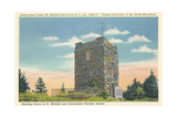 Observation Tower, Mt. Mitchell Prints