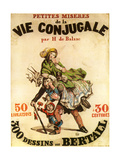 Old Playbill for Balzac Play Art