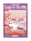 Lady of the Nile Sheet Music Prints