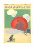 Shadowland Magazine, Frogs on Beach Art