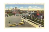 Delaware River Bridge, Camden Prints